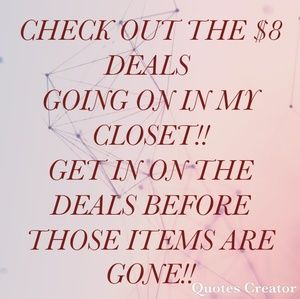Other - Deals!!!!